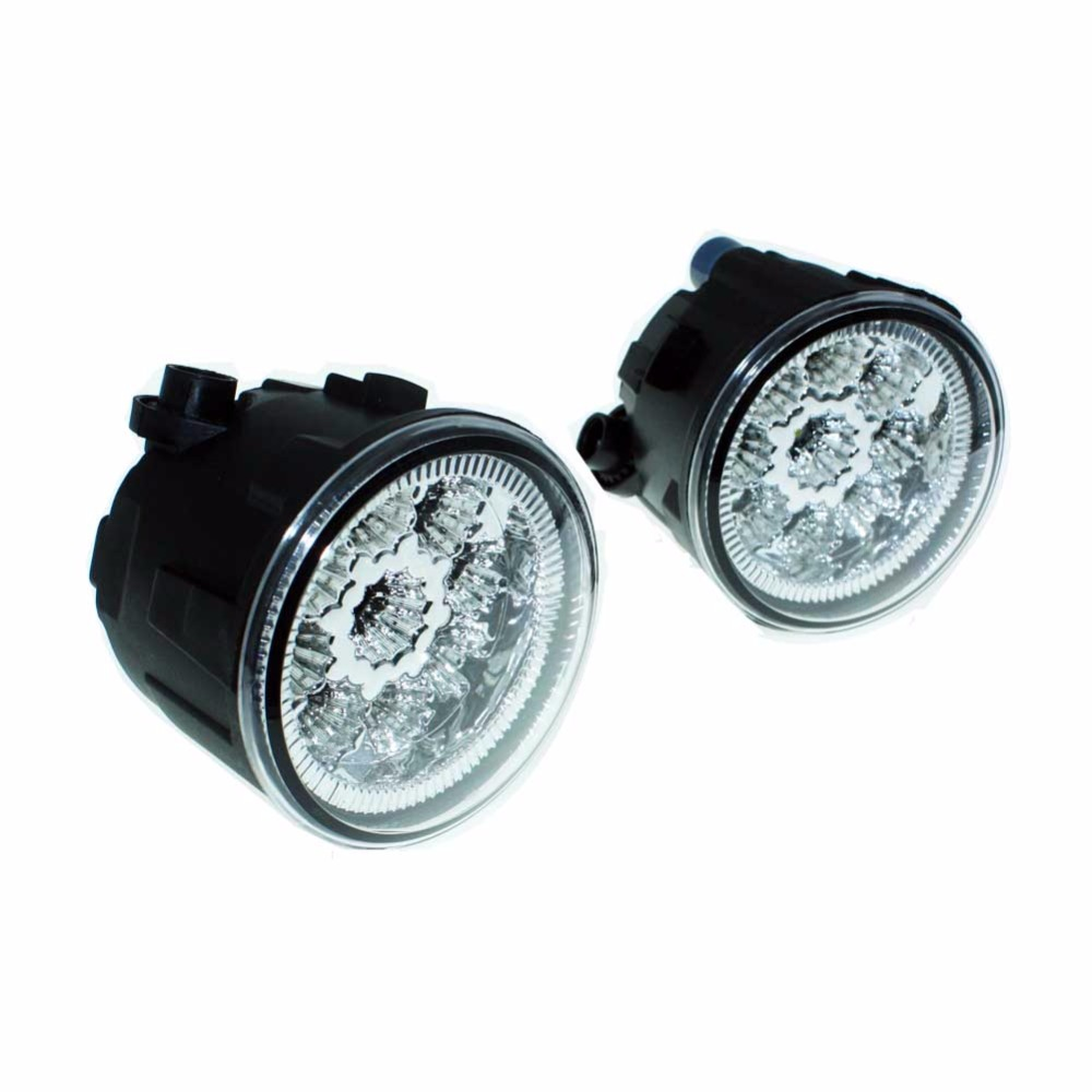 2pcs For NISSAN Murano Z51 Closed Off-Road Vehicle 2007-14 Car Styling Front Fumper LED fog Lights high brightness fog lamps H11 car styling led fog lights for mitsubishi pajero iv v8 w v9 w closed off road vehicle 2007 2012 fog lamps 10w drl 1set
