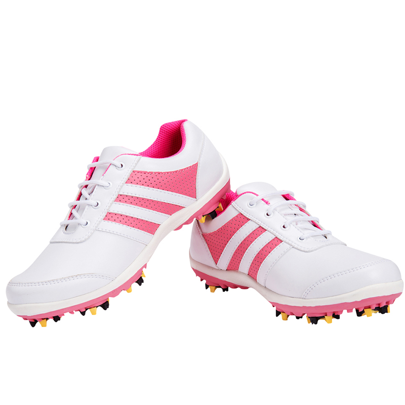 Brand TTYGJ Adult Womens Ladies Girls Women Golf Sports Shoes Lightweight & Breathable & Steady & Waterproof & Cushion