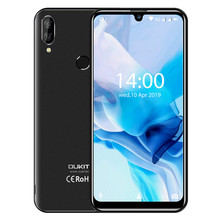 """OUKITEL C16 Pro 5.71"""" Android 9.0 19:9 MT6761P 3GB 32GB Smartphone Fingerprint Face ID Waterdrop Screen 5V/1A 4G Mobile Phone"""