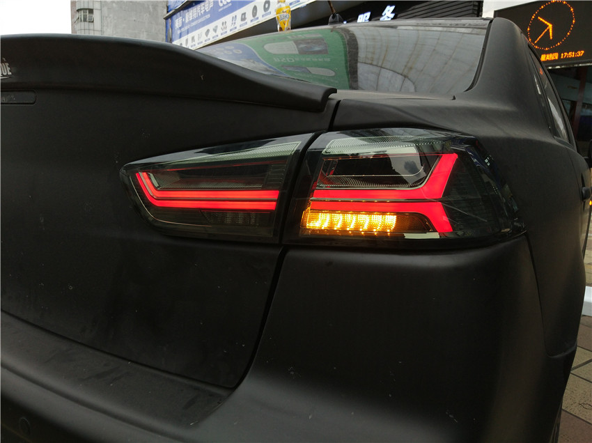 manufacturer for Car Tail light for Lancer LED Taillight 2008 2017 for EVO Tail lamp with LED Moving Signal light in Car Light Assembly from Automobiles Motorcycles