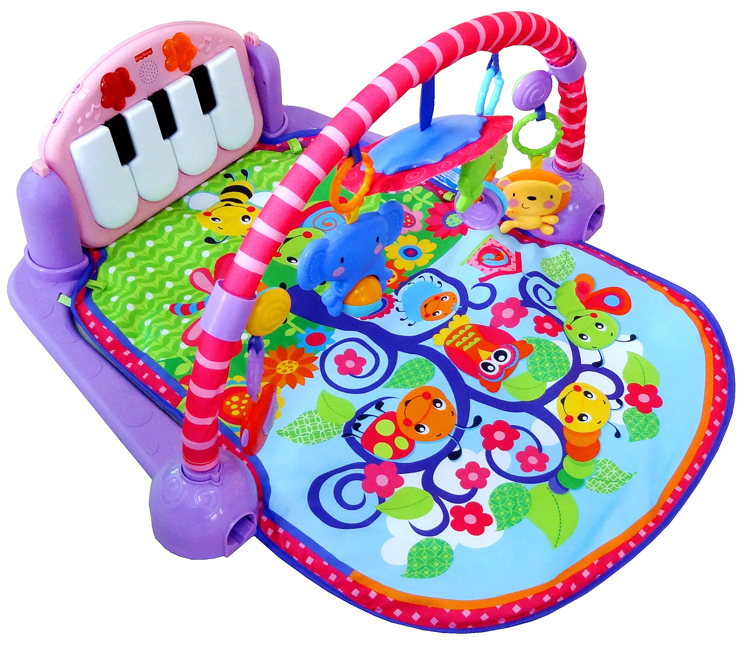 0d9139a894bf Free shipping Kick  N  Play Mat Piano Activity Gym Baby Play Gym Mat for  0-18 month