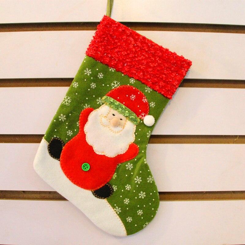 comprar decoracin navidea para el hogar media de la navidad rbol de navidad kids navidad del caramelo del bolso de