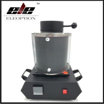 220V Electric Jewelry Melting Furnace 2KG Aluminum Copper Gold Lead Silver Induction melting ovan furnace