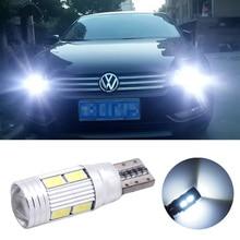2PCS LED W5W T10 5630 10SMD Light for RENAULT 21 19 9 Vel Trafic Scenic Modus Megane Laguna Side Parking bulba lamp
