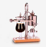 Free shipping New design water drop Royal balancing siphon coffee machine/belgium coffee maker syphon vacumm coffee brewer