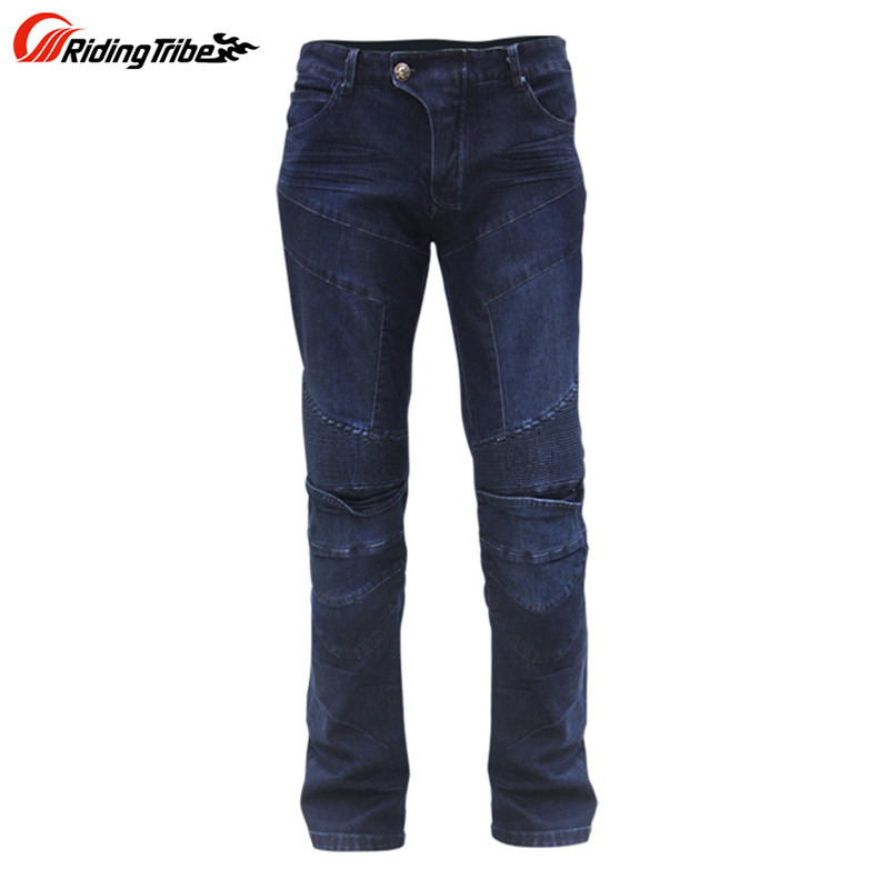ФОТО Motorcycle Pants Jeans Motocicleta Motocross Pants Equipment Motociclismo Pantalon Moto Trousers Hommes Men HP03A Ring Pants