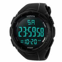 2018 Hot Sale HONHX Digital Watch Men New Fashion Digital Military Army Sport LED Waterproof WristWatch kol saati relogio reloj
