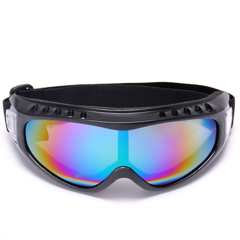 Outdoor Bike Bicycle Glasses Snowboard Ski Goggles Gear Skiing Sport Adult Glasses Anti-fog UV Dual Lens A2