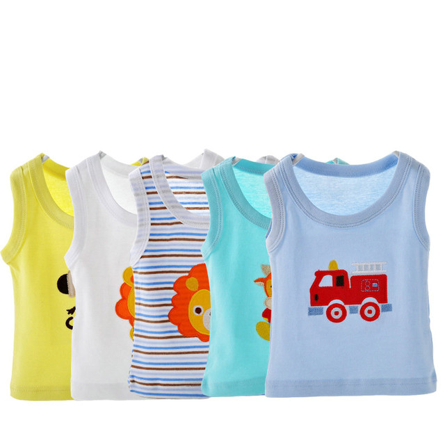 Free shipping 5pcs/pack Summer New Style Baby  Cotton T-shirts Boy Girl Embroidered Cartoon Pattern Beautiful adr0144