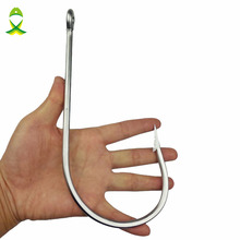JSM 7731 Stainless Steel Super Large shark Fishing Hooks Big Game Fish Tuna Bait Extra Big Fishing Hook Size 20/0