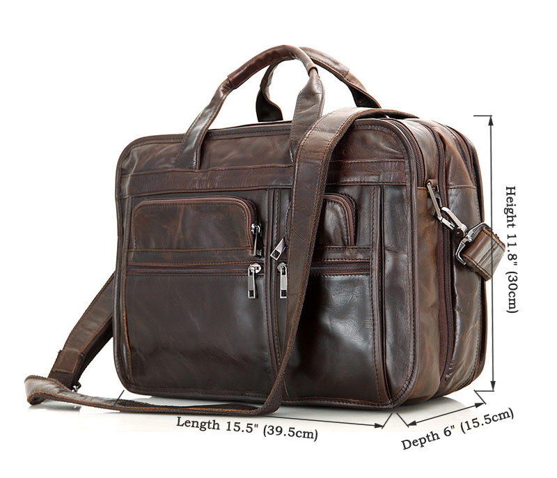 Briefcase Man Super Large Capacity Three-tier storage rooms Travel Business Trip Long trip Genuine Leather Vintage Durable StrapBriefcase Man Super Large Capacity Three-tier storage rooms Travel Business Trip Long trip Genuine Leather Vintage Durable Strap
