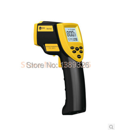 Industrial grade precision infrared thermometer temperature gun thermometer handheld infrared thermometer tes 1326s industrial infrared thermometer 35 500c