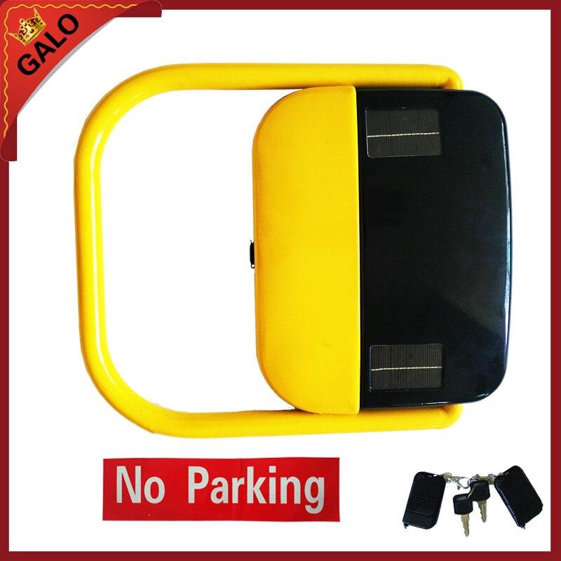Автоматическая Дистанционное управление Солнечный Мощность парковка блокировки/солнечной энергии парковка барьер с 2 пульта дистанционно...