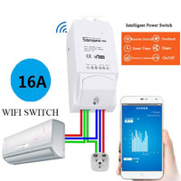 Itead Sonoff POW Wireless Automation Module Switch WiFi Smart Home Automation Remote Power Consumption Measurement