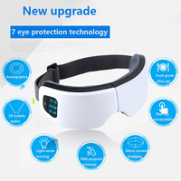 New arrival Eyes SPA Music Electric Air pressure Eye Massager Wireless Heating Compression Massage Device Dispel Eye Bags