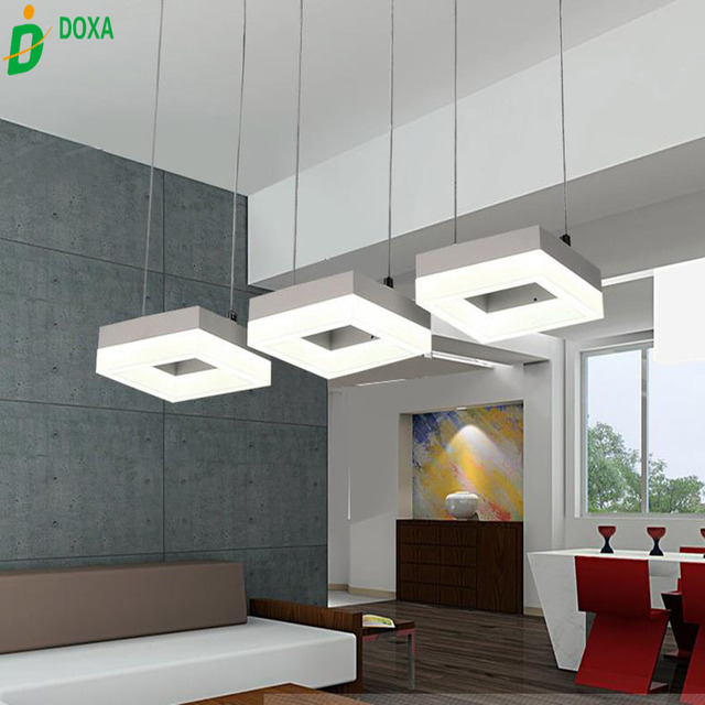 Modern design shaped led pendant light contemporary feature acrylic modern design shaped led pendant light contemporary feature acrylic light de luz for living room bedroom mozeypictures Image collections