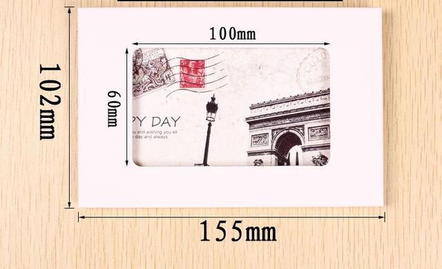 Quelle sera la taille des cartes postales ?