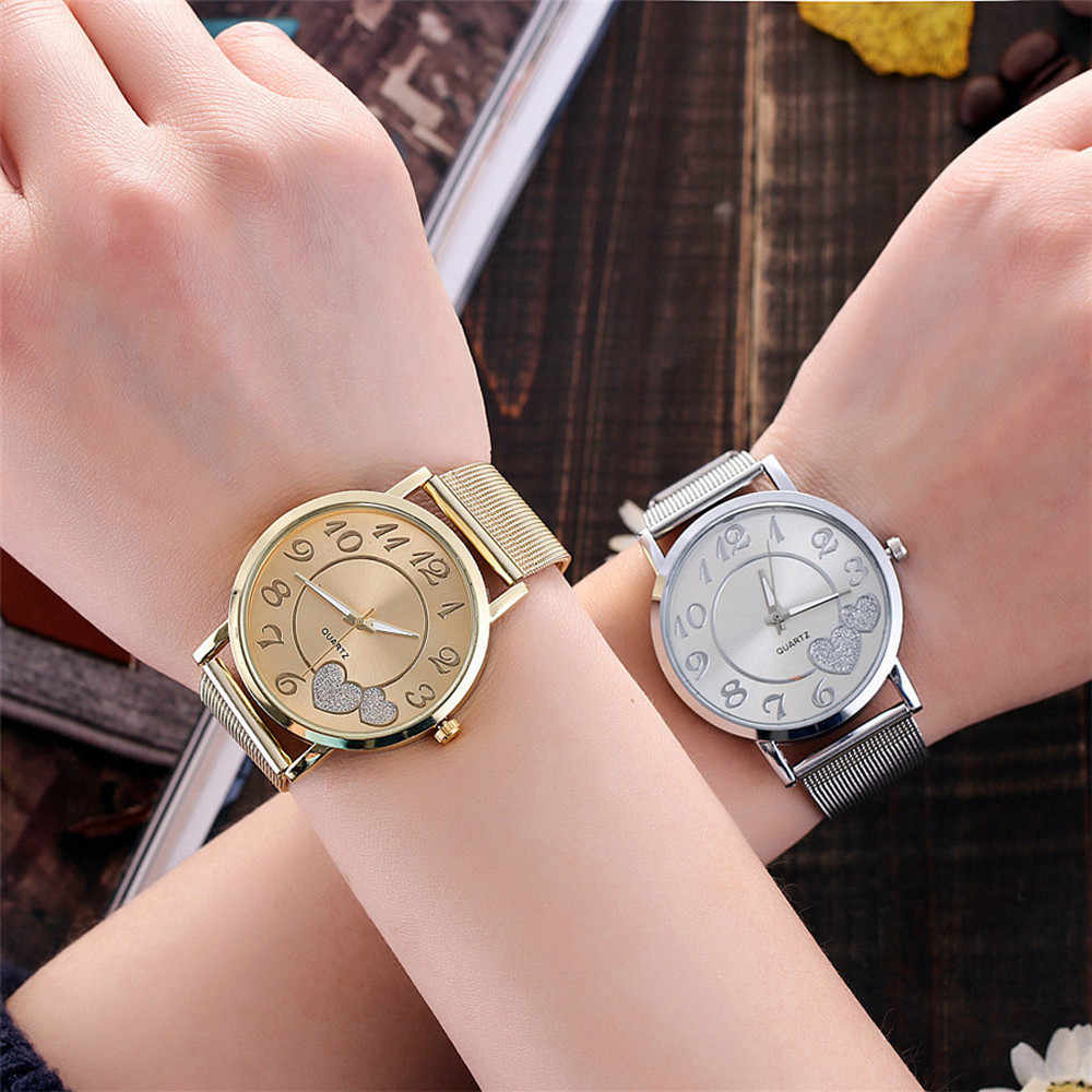 ساعة معصم من Vansvar مزودة بسوار منسوج باللون الفضي ساعة معصم عصرية للنساء كاجوال من الكوارتز ساعة يد للسيدات هدية من Dames kijken #5/22