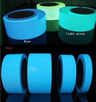 1.5 см * 5 м световой Клейкие Ленты Самоклеящиеся светящиеся ночью/темно-Детская безопасность этап эффектный Предупреждение Детская безопасность Клейкие ленты