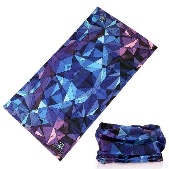 Seamless Magic Tube Bandana Sport Headscarves Multi Use Face Shields Balaclava Anti-UV Kaffiyeh Shemag Military 3d Head Scarf