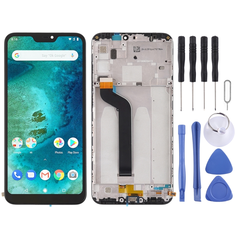 High Quality LCD Screen and Digitizer Full Assembly With Frame Lcd Replacement Glass for Xiaomi Redmi 6 Pro With ToolsHigh Quality LCD Screen and Digitizer Full Assembly With Frame Lcd Replacement Glass for Xiaomi Redmi 6 Pro With Tools