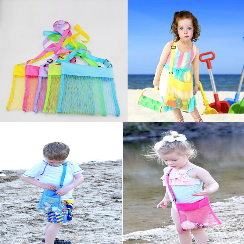 Home & Garden Storage Bags Outdoor Beach Sand Clothing Shoes Sandbox Toys Storage Holder Pouch Bag