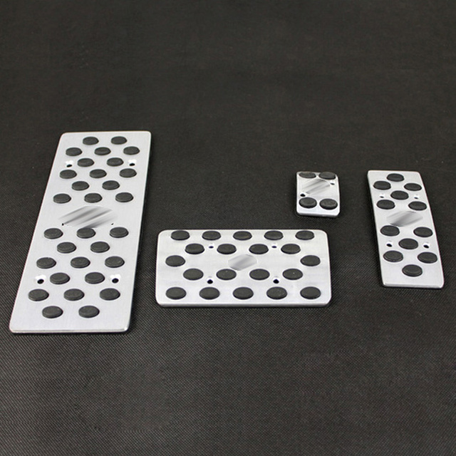 For INFINITI 2003-2008 FX35 FX45 03-07 G35 Sport Fuel Brake Foot Rest AT Pedal Plate Cheap Pedals Pads