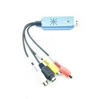 Tarjeta de adquisición de vídeo USB 1 carretera equipo de monitoreo receptor set-top boxes para interruptor de ordenador para ver la TELEVISIÓN