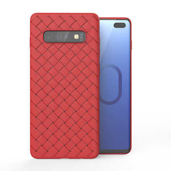 Luxury Grid Galaxy S10 Plus Case