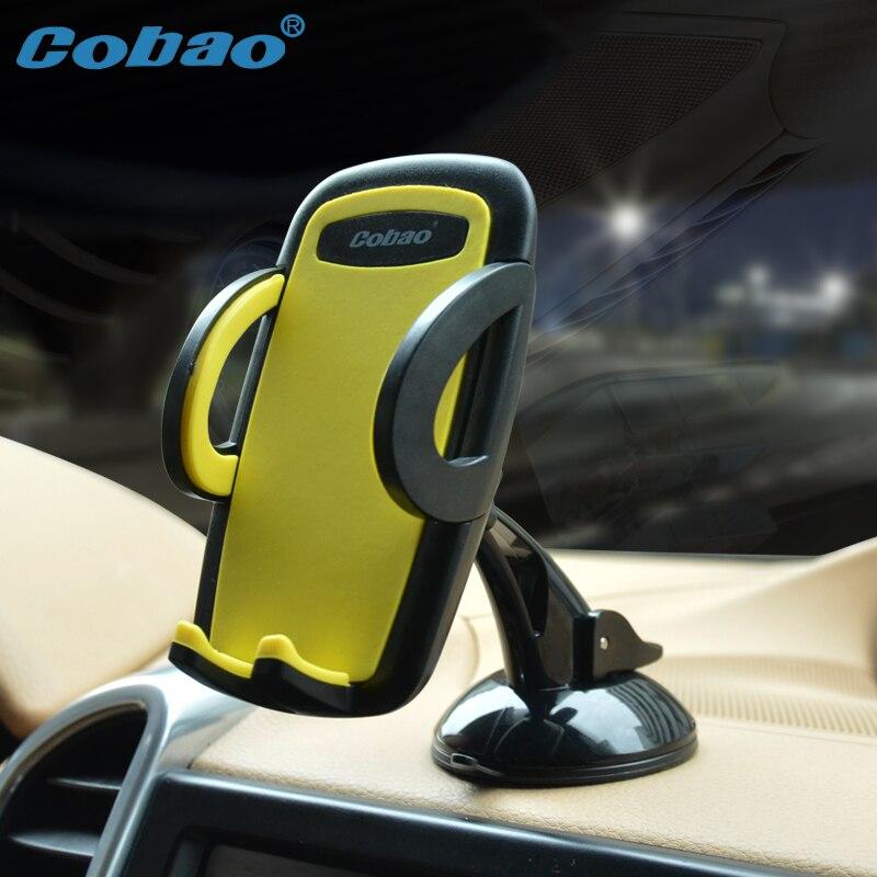 Cobao universal car windschutzscheibe handyhalter stehen verstellbare sticky halterung halter für handy smartphone unterstützung iphone