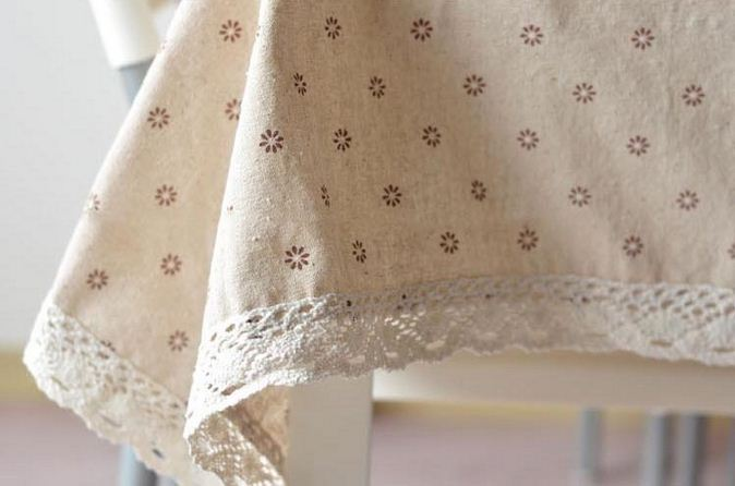 Etonnant 3 Styles Lace Linen Table Cloth Flower Cherry Country Style Multifunctional  Tablecloths Table Cover Free Shipping ZB 16 In Tablecloths From Home U0026  Garden On ...
