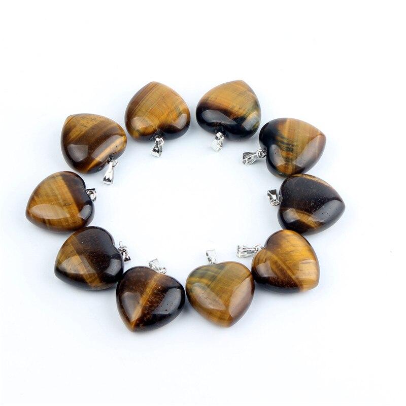 10pc Φυσική πέτρα Αμέθυστος Καρδιά - Κοσμήματα - Φωτογραφία 3