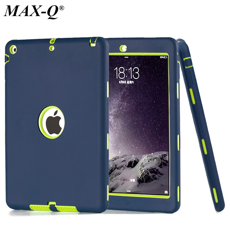 For Apple ipad 5 ipad air 1 case MAX Q Amor Heavy Shockproof cover Drop resistance