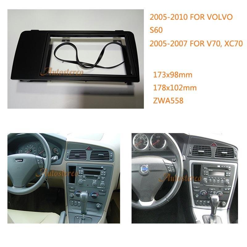 Car Radio Fascia Frame Kit For Volvo S60 2005 2010 V70 Xc70 Rhaliexpress: 2007 Volvo Car Radio At Gmaili.net