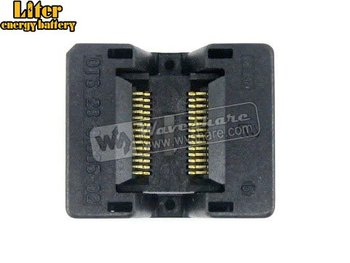 SSOP28 TSSOP28 OTS-28-0.635-02 Enplas IC Test Burn-in Socket Programming Adapter 0.635mm Pitch 3.94mm Width
