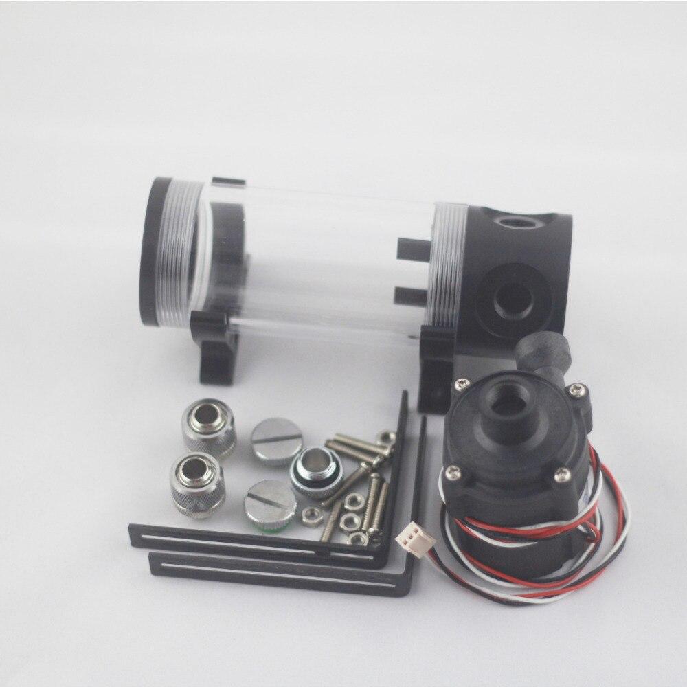 140-mm cilinderwatertank + SC600-pomp alles-in-een set Maximale - Computer componenten - Foto 2