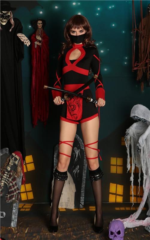 Anime Ninja Costume Women Party Show Ninja Sexy Cosplay Halloween