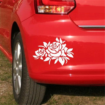 Reflective Car Sticker Covered Scratch Decals Auto Front And Rear Bumper Stickers For renault clio alfa romeo 147 bmw e30 Abarth image