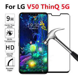 На Алиэкспресс купить стекло для смартфона full cover tempered glass for lg v50 thinq 5g screen protector on for lg v 50 lgv50 6.26inchprotective protection touch glas 9h