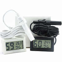 -50C to 70C /10% to 99% Thermometer Temperature and Humidity Meter With Probe Embedded Instrument Measurement