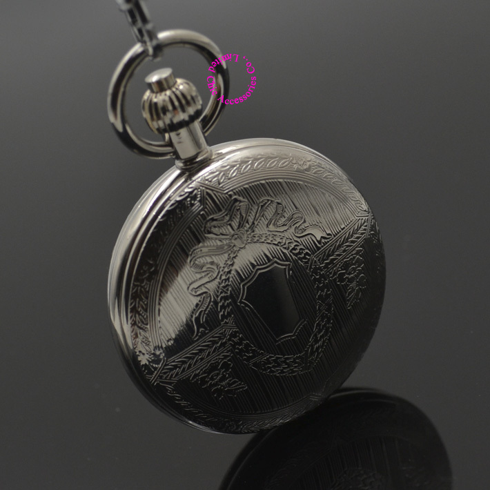 Wholesale Mechanical Pocket Watch Shield Shape Cover Retro Vintage Classic Silver Ipg Plating Copper Brass Case Good Quality wholesale luxury professional protable trumpet bag 600d soft pocket case durable cover good quality backpack shoulder withstrap