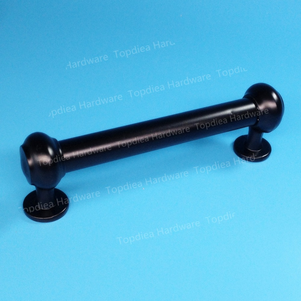 C:C: 128mm Length 150mm dresser drawer pulls cupboard kitchen black ...