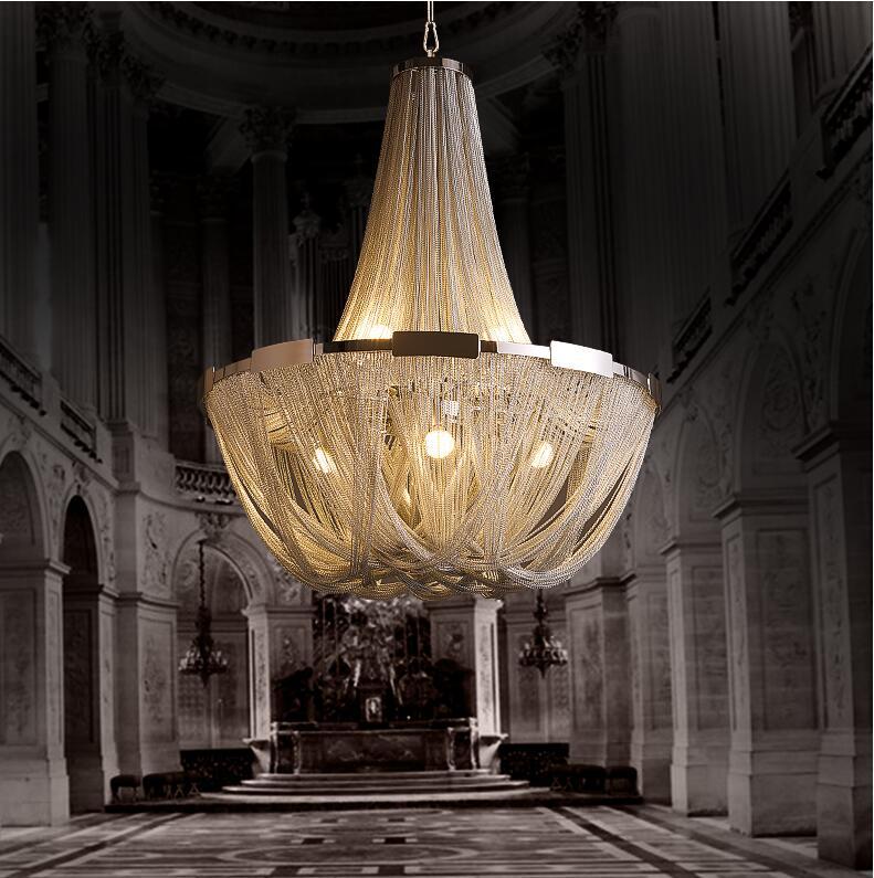 Naujo dizaino LED aliuminio liustra prabangi šviesa Dia - Vidinis apšvietimas - Nuotrauka 2
