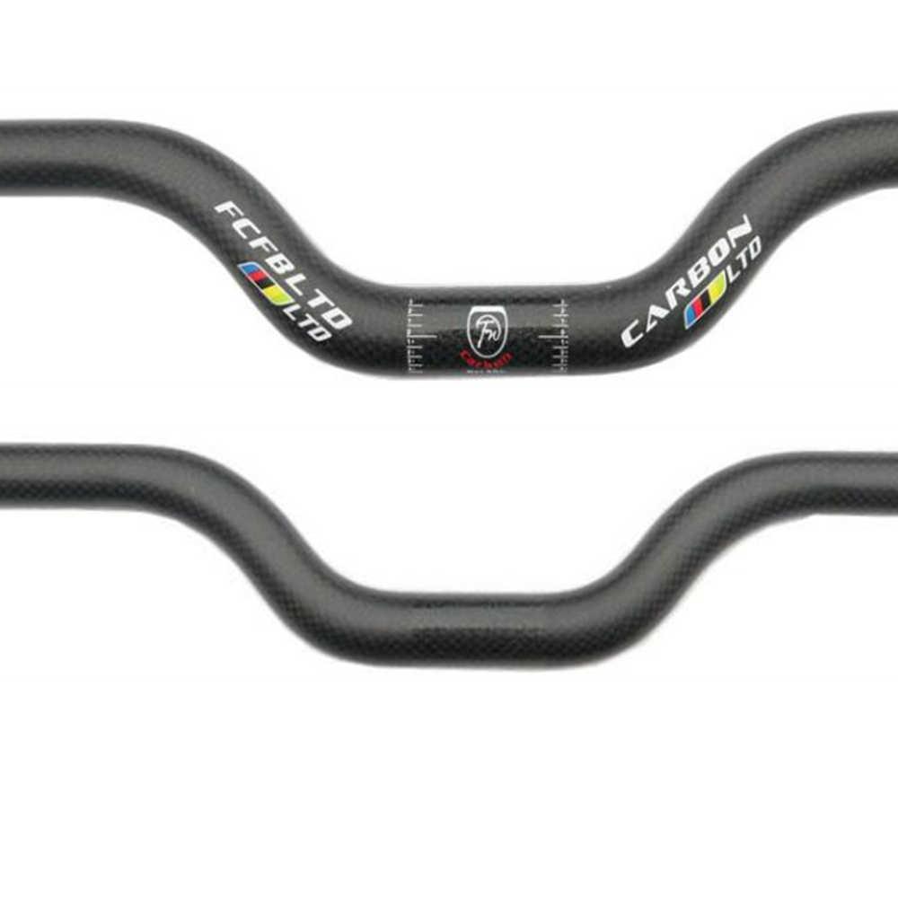 MTB Flat//Riser Handlebar 25.4//31.8*660-780mm Carbon Fiber//Al Mountain Bike Bar