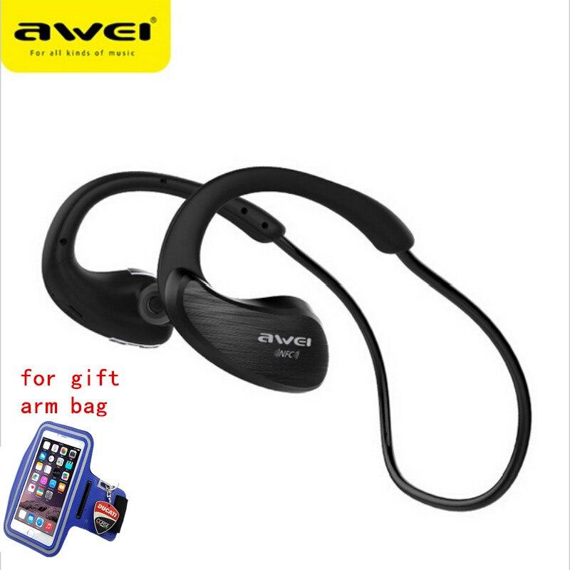 bilder für A885BL Bluetooth Headset Kopfhörer Sport Drahtlose IPX4 Wasserdicht Mit NFC Mikrofon AptX Sport Kopfhörer für Lauf Gym