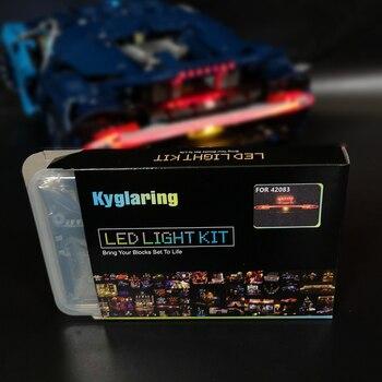 Kyglaring светодиодный свет комплект для lego 42083 автомобилей блоки комплект