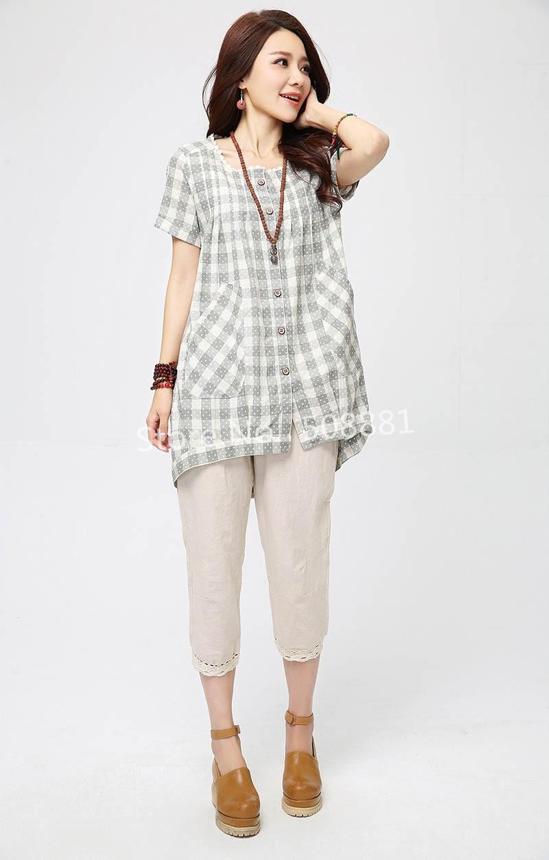 Aliexpress.com : Buy 2015 New Plus Size Blouse Shirts Women Summer ...