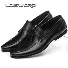 Moda marrom tan/preto mocassins de verão sapatos de casamento dos homens vestido de couro genuíno dos homens sapatos de negócios shoes com fivela