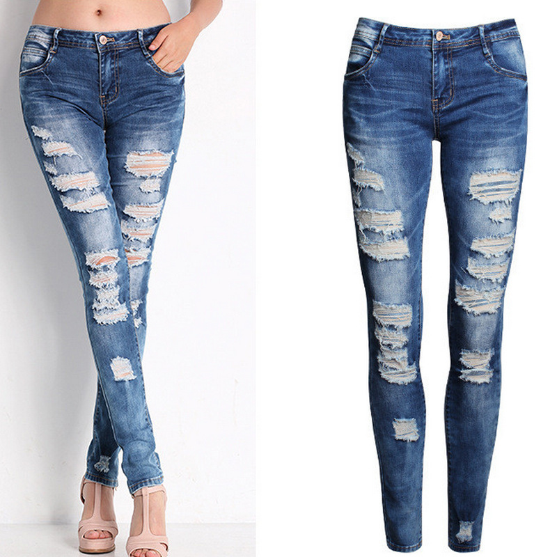 Popular Skinny Denim Capris-Buy Cheap Skinny Denim Capris lots ...