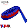 New Ultra-soft rubber  bumper Strip Car  Width Exterior Front Bumper Lip Kit